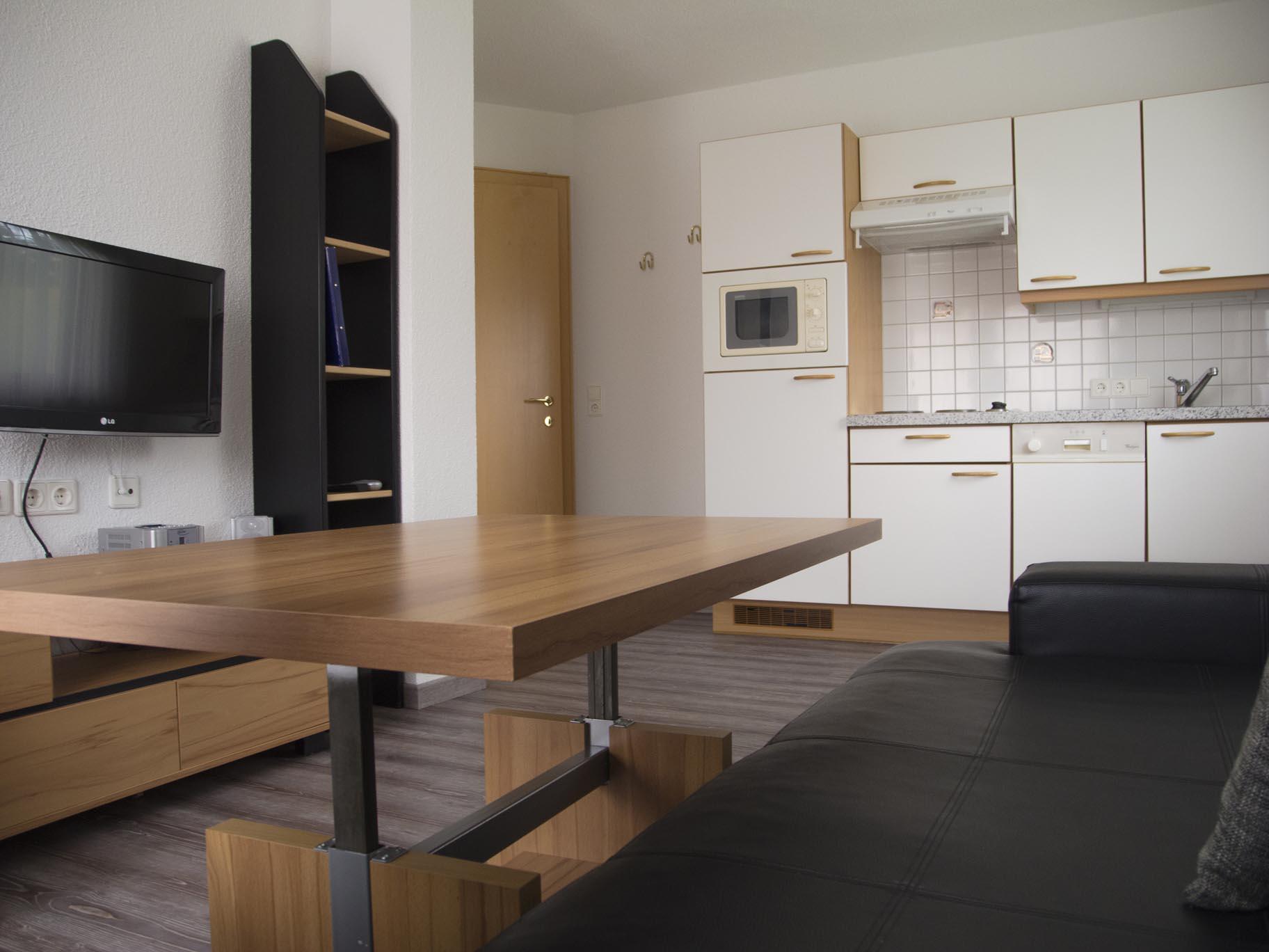 Apartment 1, living room