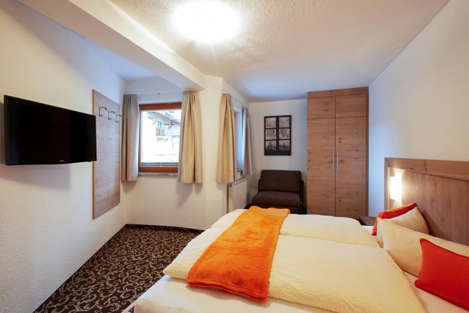 Ferienwohnung 2, Schlafzimmer
