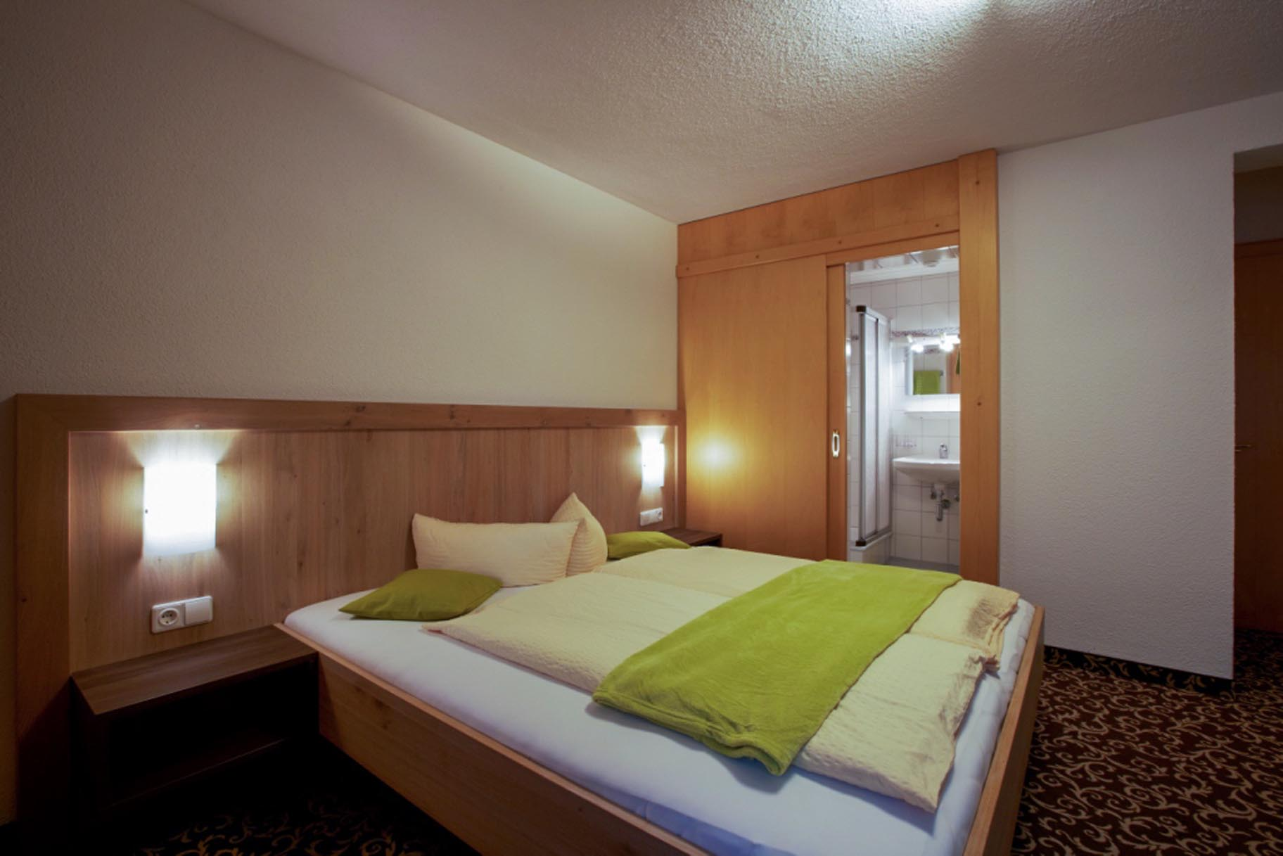 Ferienwohnung 3, Schlafzimmer