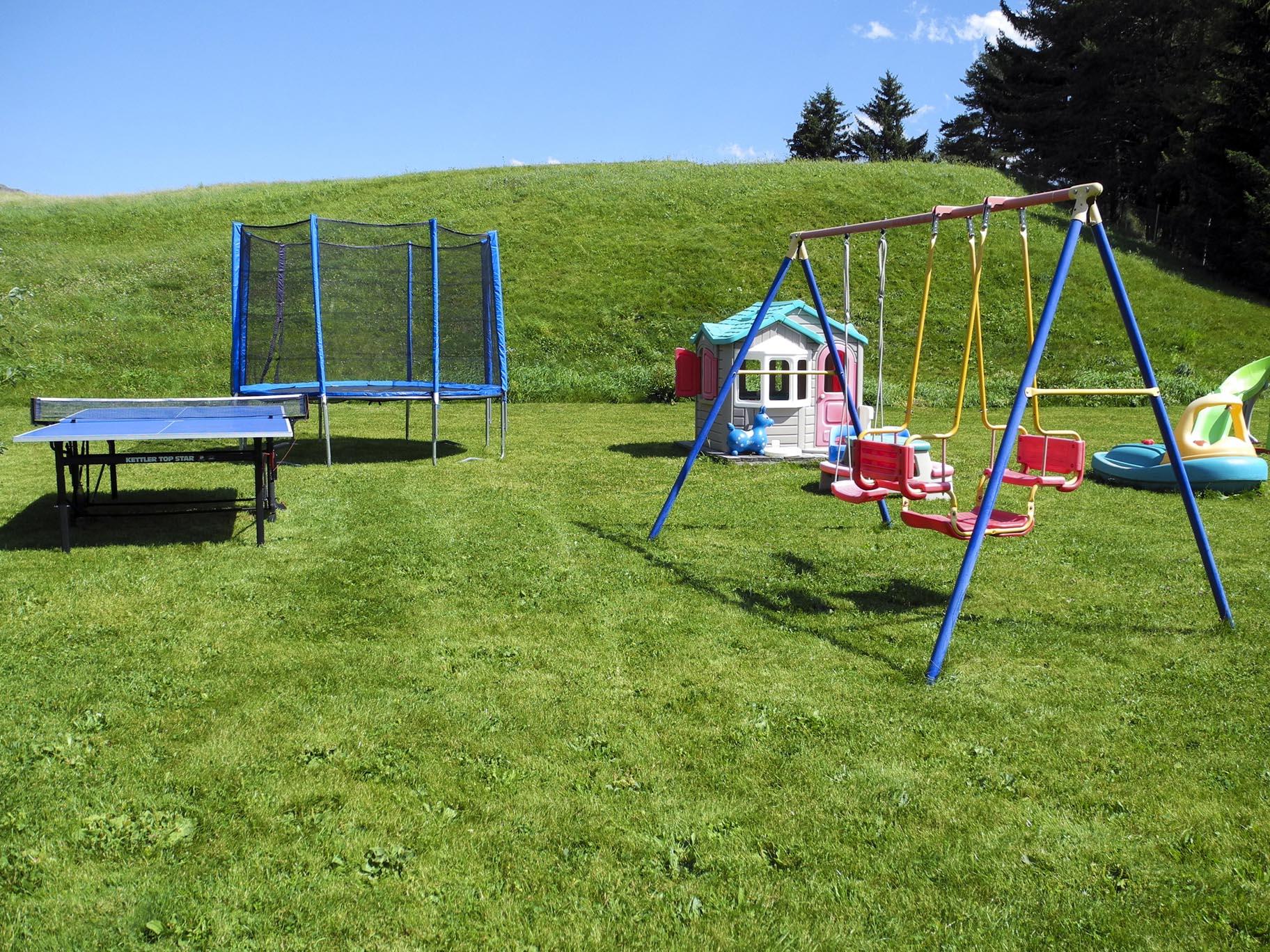 Garten, Spielplatz