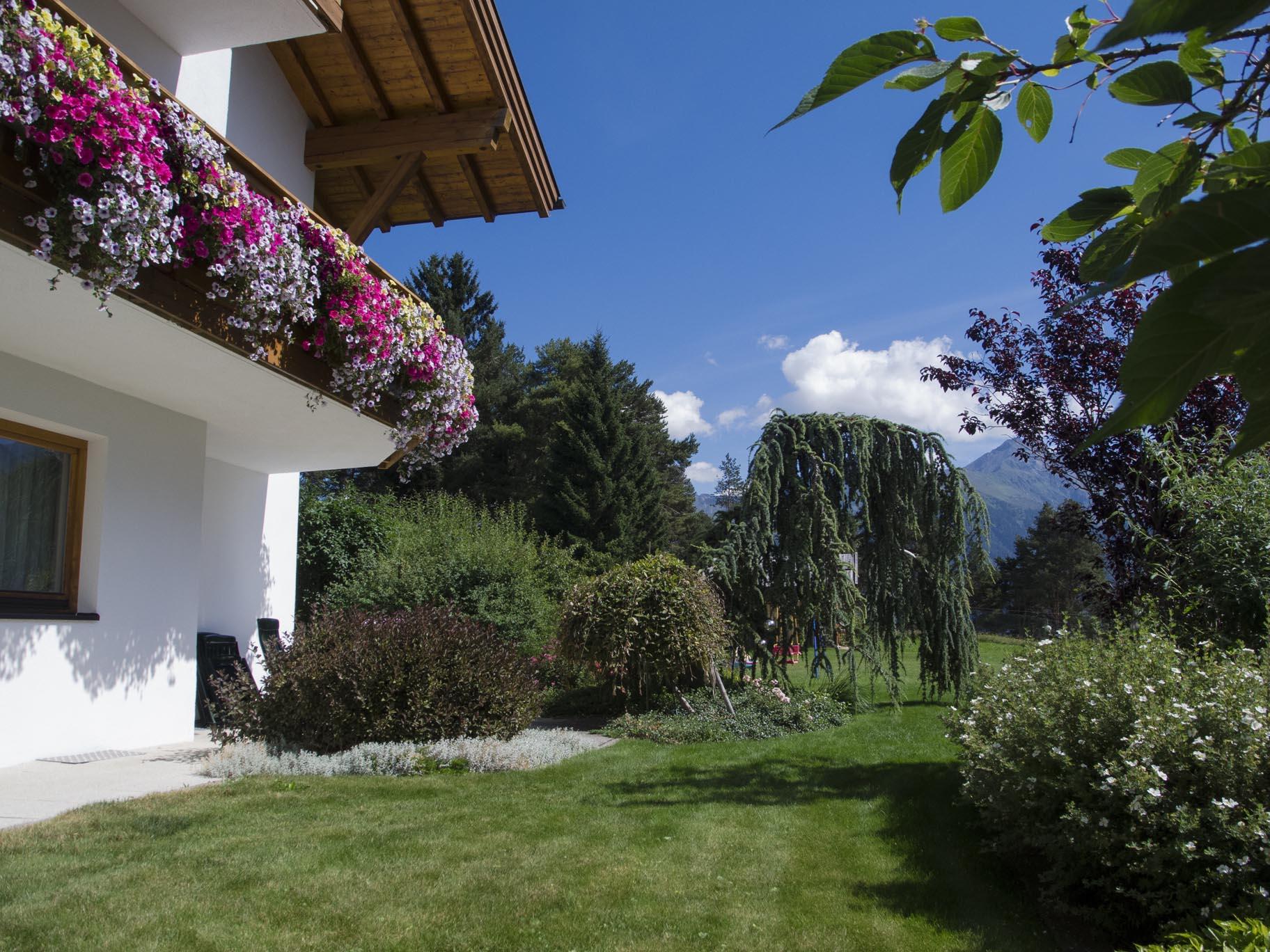 Garten, Sonnenterrasse