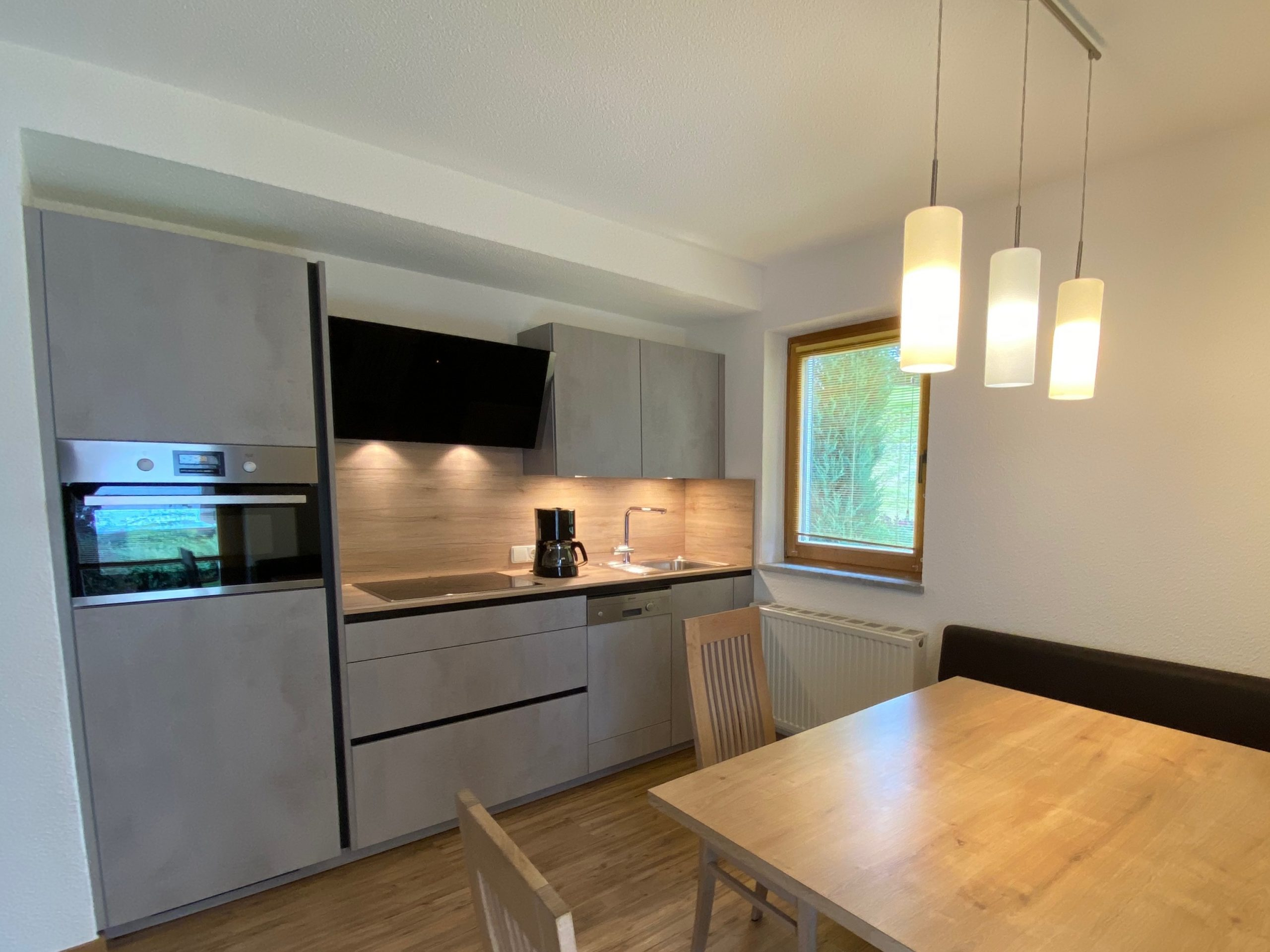 Ferienwohnung 3, Wohnzimmer und Küche